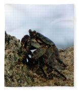 Hawaiian Crab Legs Fleece Blanket