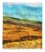 Hawaiian Pasture Fleece Blanket