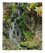 Hawaiian Waterfall Fleece Blanket