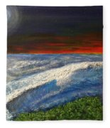Hawiian View Fleece Blanket