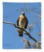Hawk Eye Contact Fleece Blanket