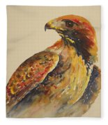 Hawk Messenger Fleece Blanket