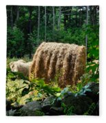 Hay Bay Rolls 2 Fleece Blanket