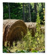 Hay Bay Rolls Fleece Blanket
