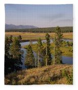 Hayden Valley Fleece Blanket