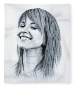 Hayley Williams. Fleece Blanket