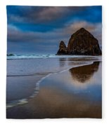 Haystack Dawn Fleece Blanket