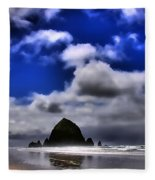 Haystack Rock Monolith Fleece Blanket