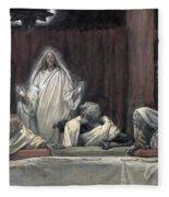 He Appeared To The Eleven Fleece Blanket