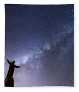 He Held The Stars In The Palm Of His Hand Fleece Blanket