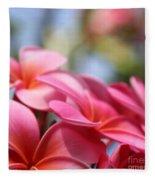 He Pua Lahaole Ulu Wehi Aloha Fleece Blanket