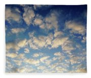 Head In The Clouds- Art By Linda Woods Fleece Blanket