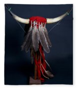 Headdress Fleece Blanket