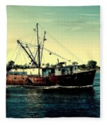 Heading Out - Jersey Shore Fleece Blanket