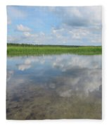 Headwaters Of The Mississippi Fleece Blanket