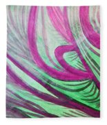 Healing Waves Fleece Blanket