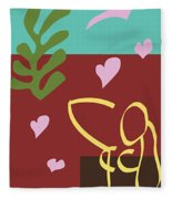 Health - Celebrate Life 3 Fleece Blanket