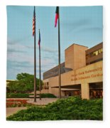 Health Sciences Medical Center Fleece Blanket