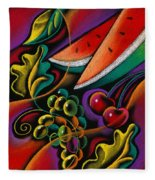 Healthy Fruit Fleece Blanket