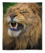 Hear Me Roar Fleece Blanket