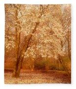 Hear The Silence - Holmdel Park Fleece Blanket