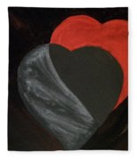 Heart Blocker Fleece Blanket