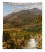Heart Of The Andes Fleece Blanket