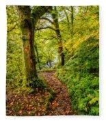 Heart Of The Forest Fleece Blanket
