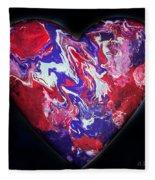 Heart Of The Matter Fleece Blanket