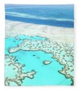 Heart Reef Fleece Blanket
