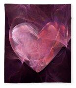 Heart Fleece Blanket