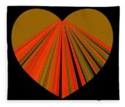 Heartline 5 Fleece Blanket