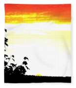 Heat Wave Fleece Blanket