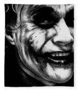 Heath Ledger Joker Fleece Blanket