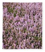 Heather Background Fleece Blanket