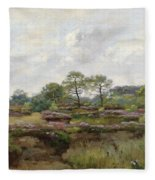Heather Landscape Fleece Blanket