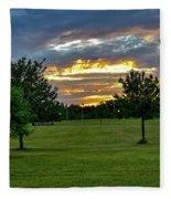 Heaven Sky Fleece Blanket