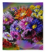 Heavenly  Blossom Fleece Blanket
