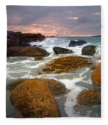 Heavenly Dawning Fleece Blanket
