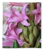 Heavenly Hyacinths Fleece Blanket
