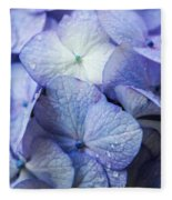 Heavenly Hydrangeas Fleece Blanket