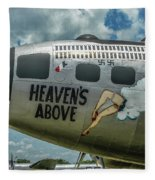 Heavens Above Fleece Blanket