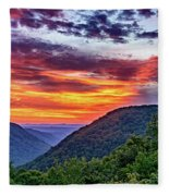 Heaven's Gate - West Virginia 2 Fleece Blanket