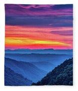 Heaven's Gate - West Virginia 6 Fleece Blanket