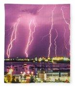 Heavens Power Fleece Blanket
