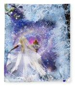 Heavens Window Fleece Blanket