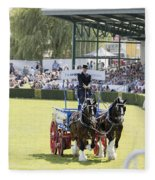 Heavy Horses Competition Fleece Blanket