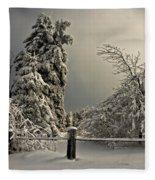 Heavy Laden Fleece Blanket