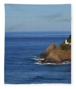 Heceta Head, Oregon Fleece Blanket