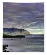 He'eia And Kualoa 2nd Crop Fleece Blanket